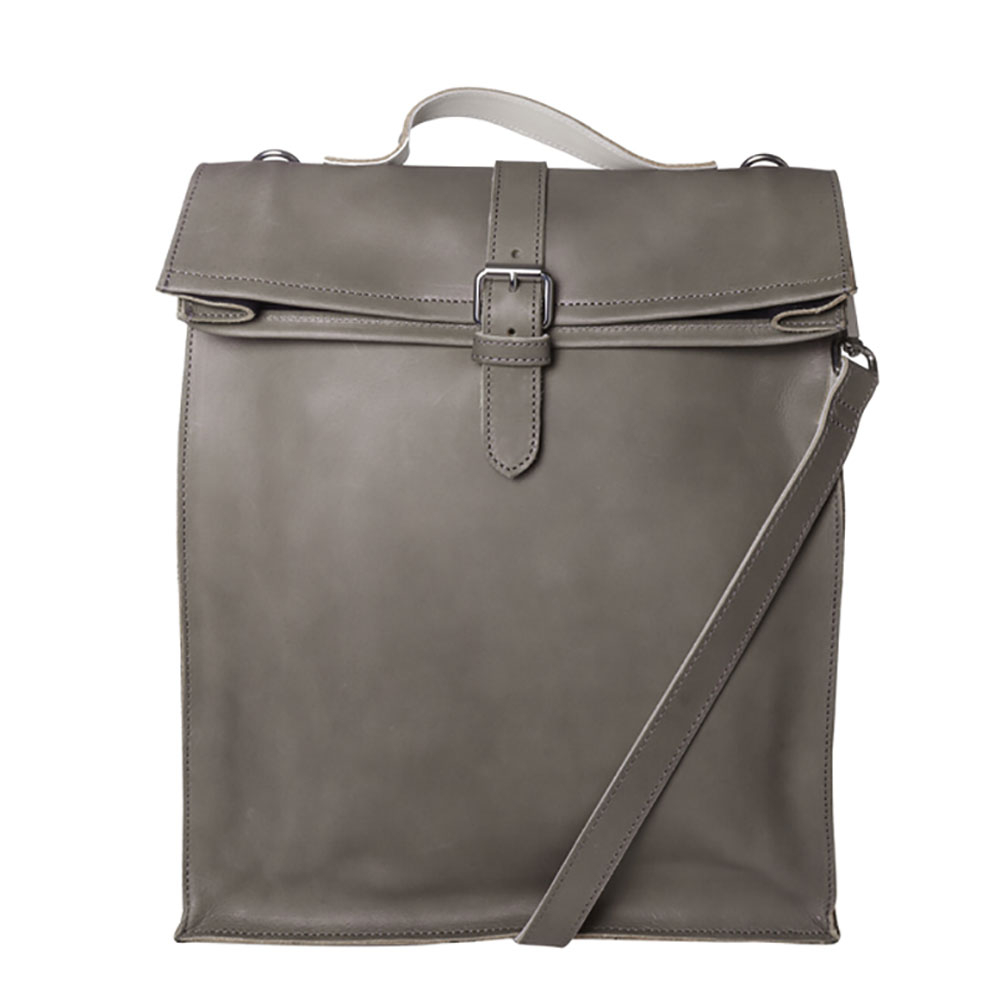 Laauw AMS The Nine Streets Laptop Bag Grey