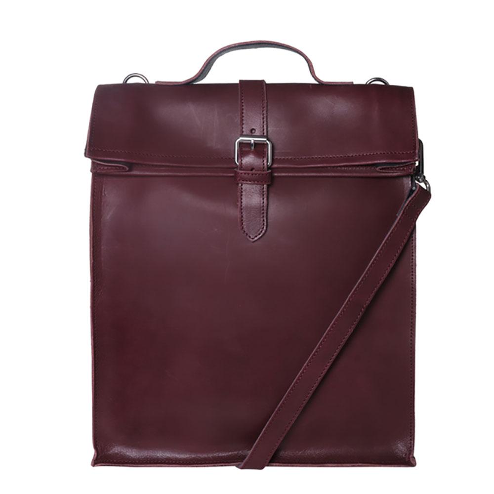 Laauw AMS The Nine Streets Laptop Bag Bordeaux