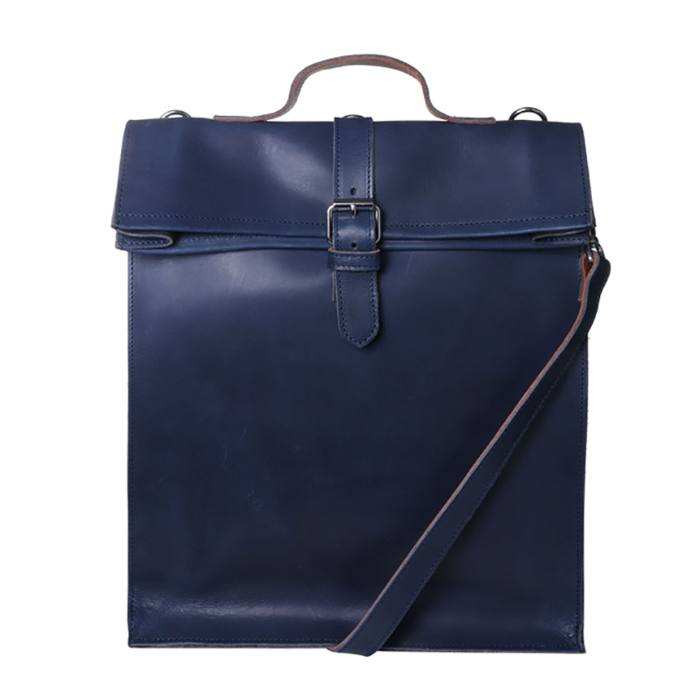 Laauw AMS The Nine Streets Laptop Bag Navy