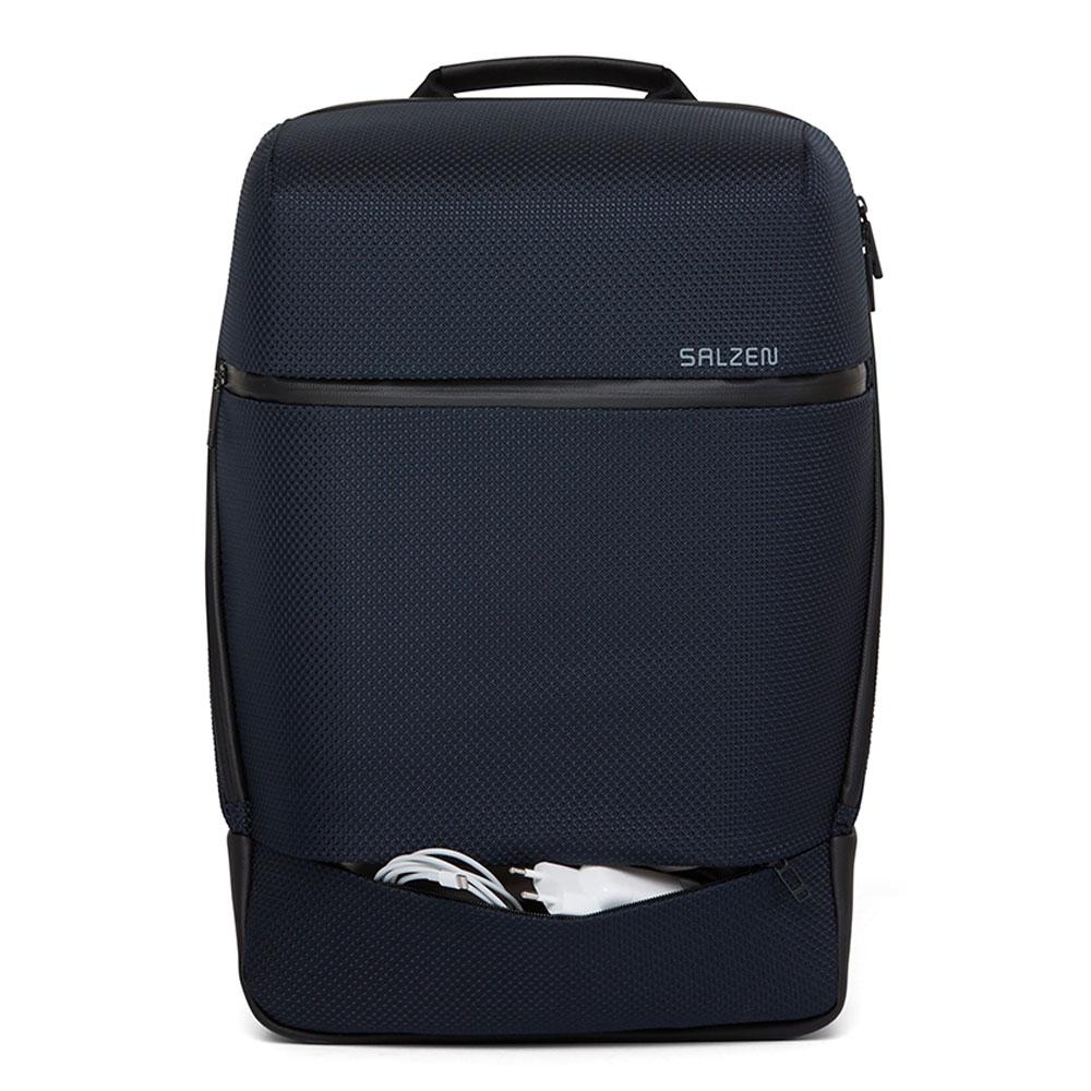 Salzen Sharp Fabric Business Backpack Knight Blue