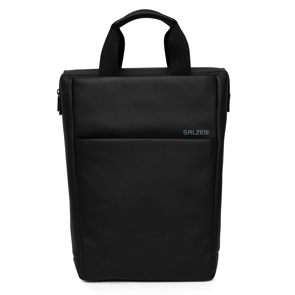 Salzen Redefined Classic Tote Backpack Total Black
