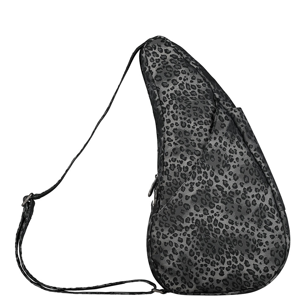The Healthy Back Bag The Classic Collection Textured Nylon S Leopard Luxe Silver