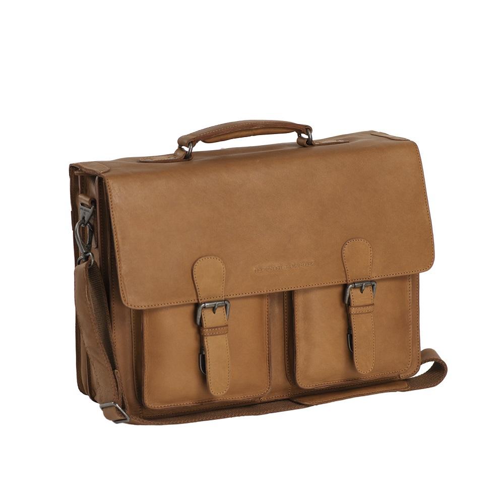 Chesterfield Lisbon Business Laptopbag Cognac