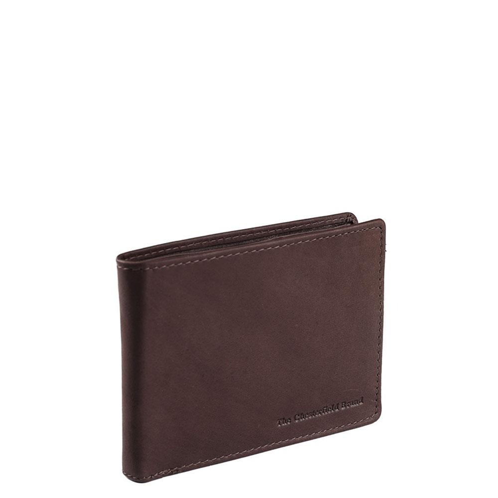 Chesterfield Timo RFID Portemonnee Brown - Dames portemonnees