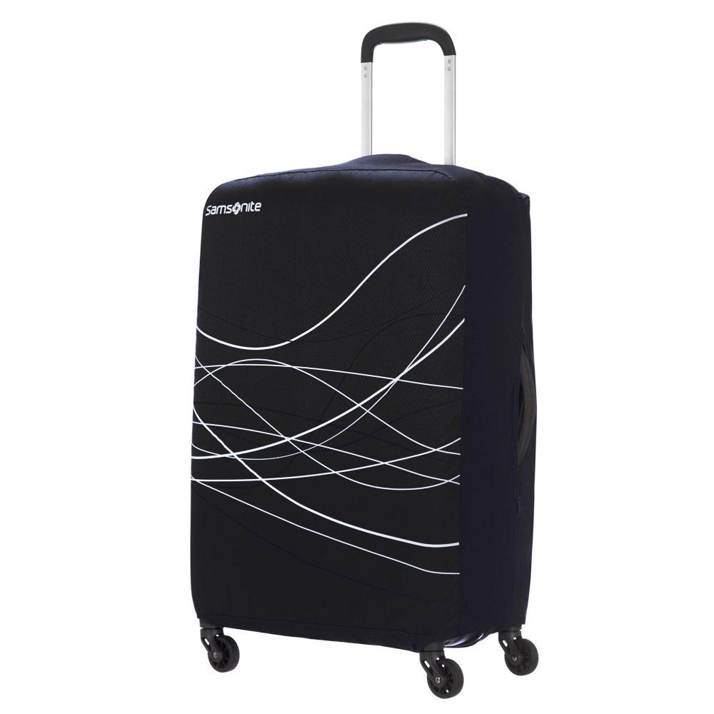 Samsonite Travel Accessoires Opvouwbare Kofferhoes M Black