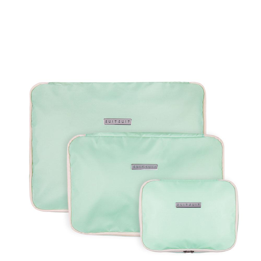 SuitSuit Fabulous Fifties Packing Cube Set S/M/L Luminous Mint