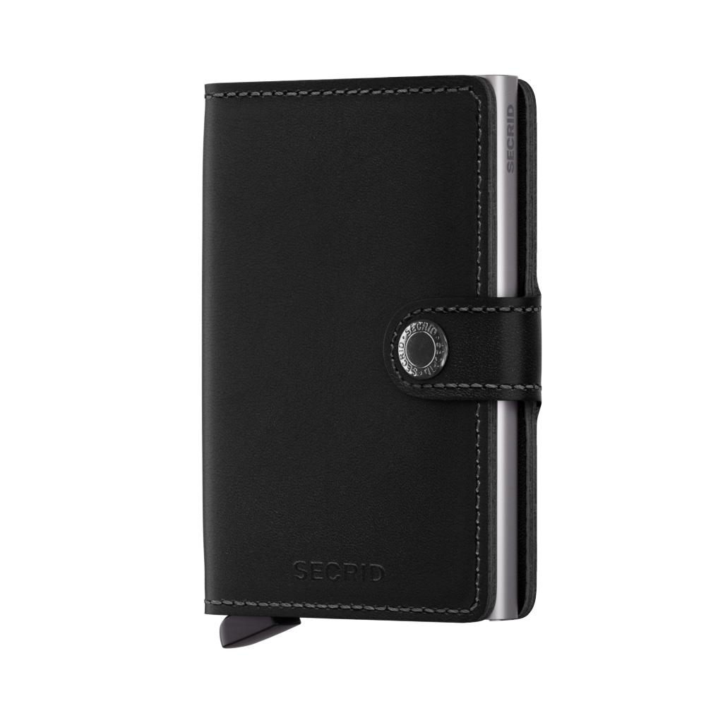 Secrid Mini Wallet Portemonnee Original Black