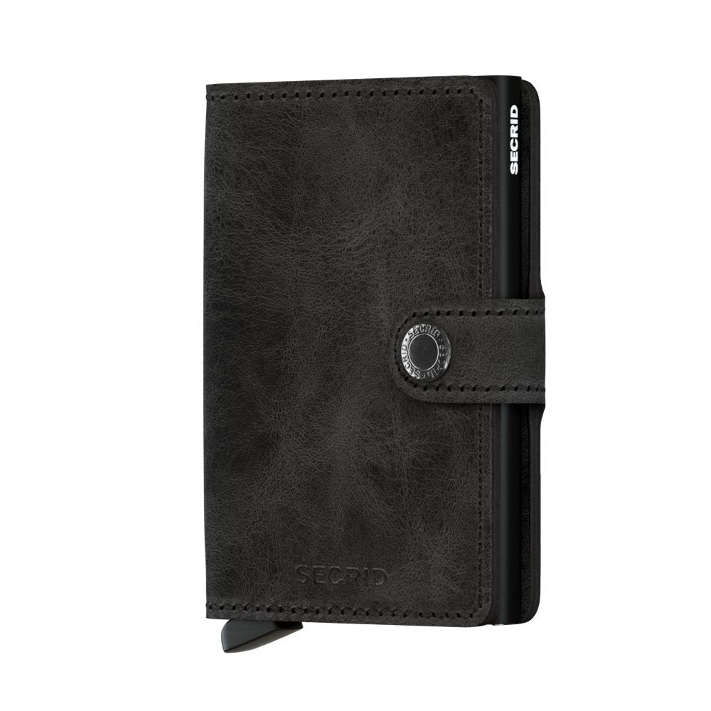 Secrid Mini Wallet Portemonnee Vintage Black