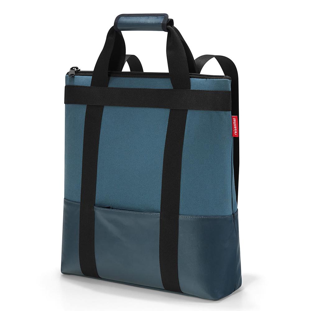 Reisenthel Daypack Schouder rugtas Canvas Blue Reisenthel goedkoop online kopen