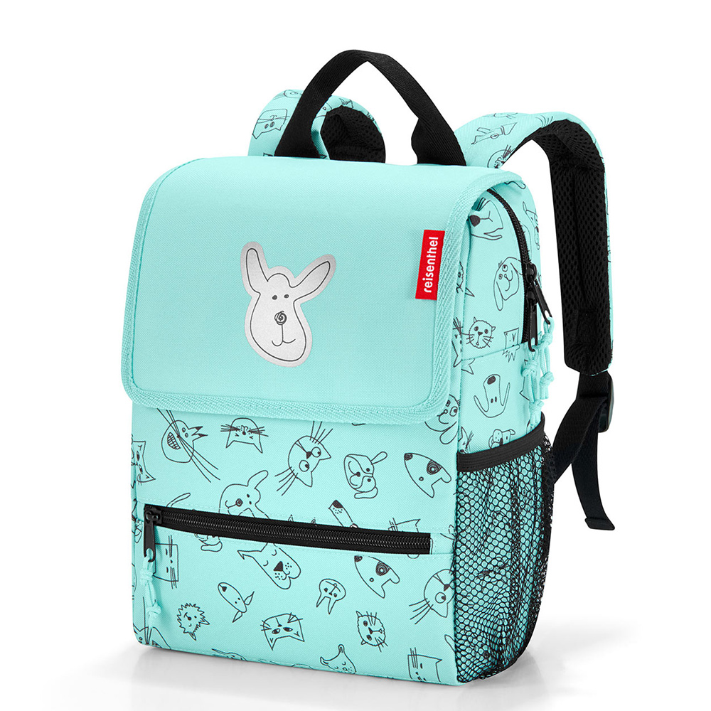 Reisenthel Backpack Kids Cats And Dogs Mint Reisenthel Premier