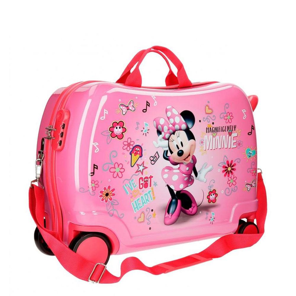 Disney Rolling Suitcase 4 Wheels Minnie Stickers