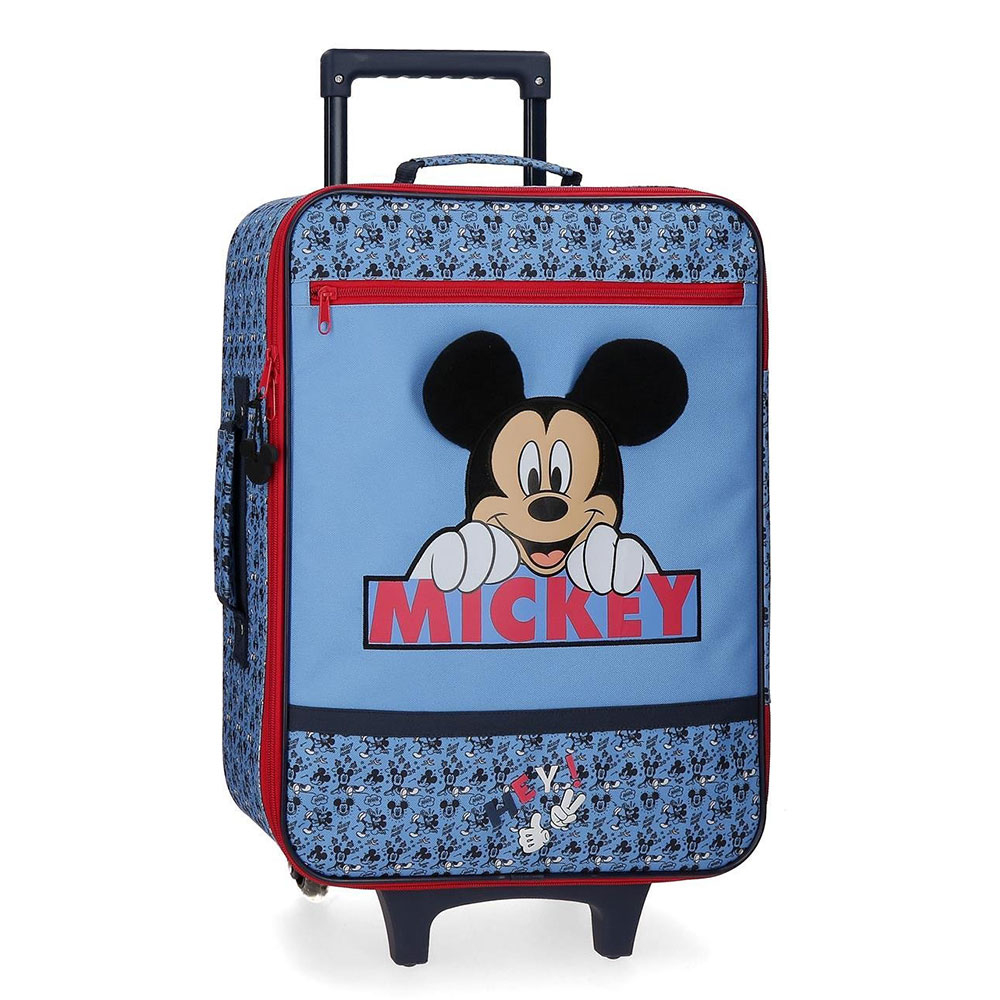 Disney Soft Trolley 50 Cm 2 Wheels Mickey Mouse Moods