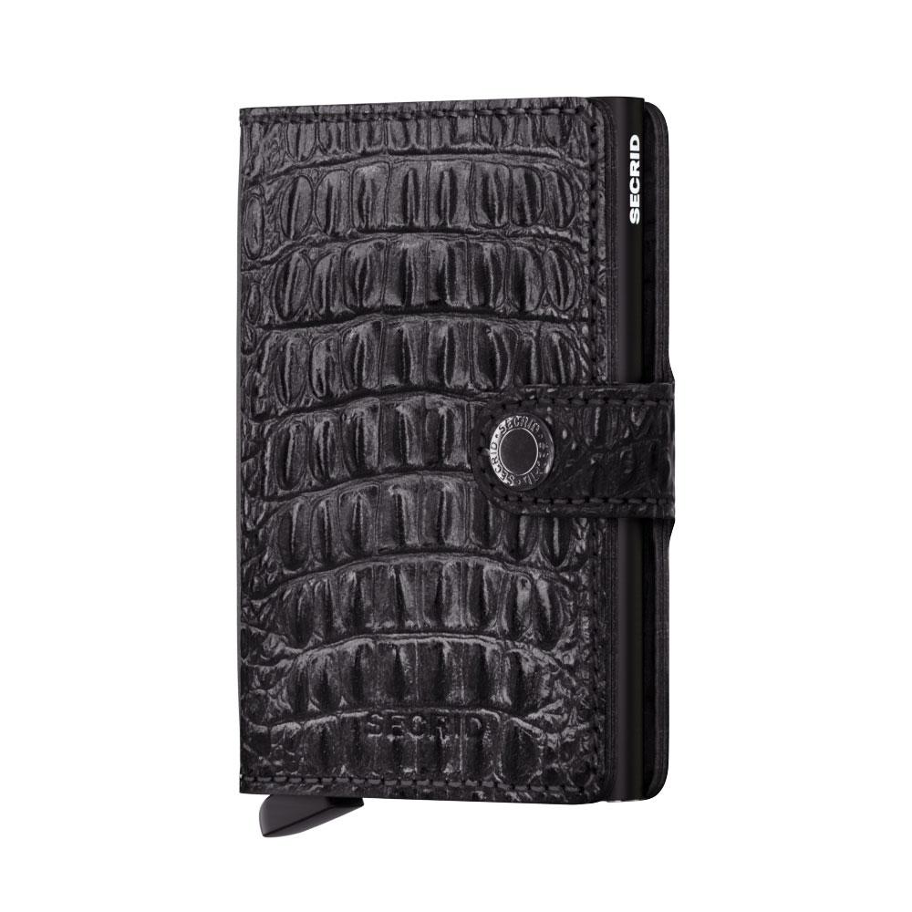 Secrid Mini Wallet Portemonnee Nile Black