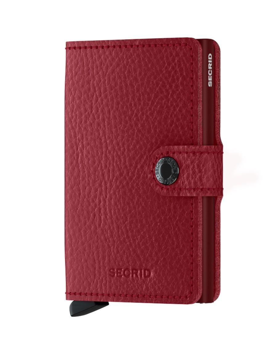 Secrid Mini Wallet Portemonnee Veg Rosso - Bordeaux
