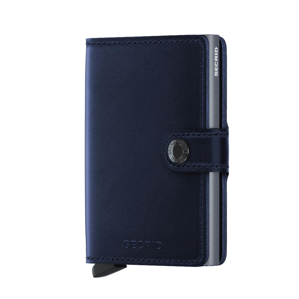 Secrid Mini Wallet Portemonnee Navy Polished