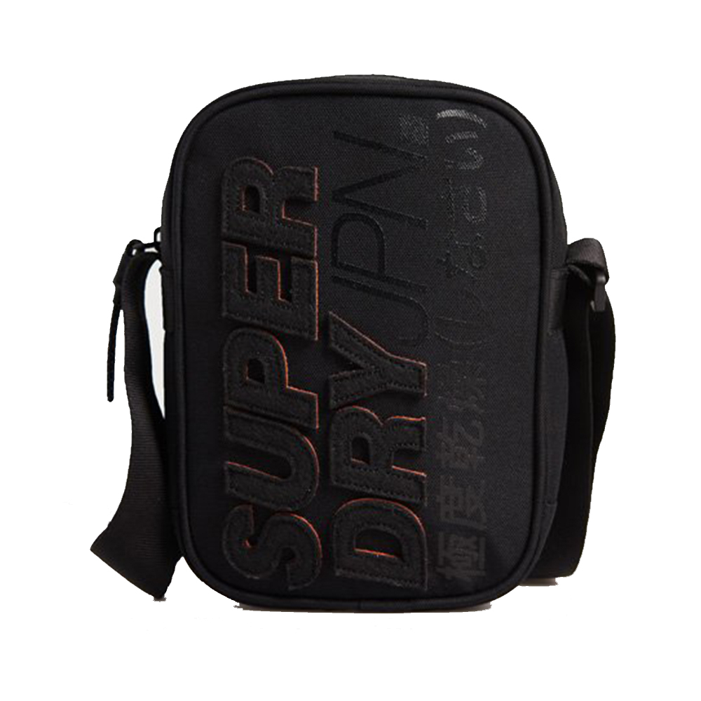 Superdry Montauk Side Bag Black