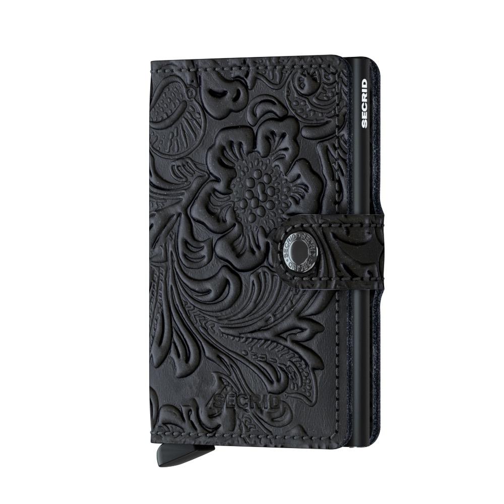 Secrid Mini Wallet Portemonnee Ornament Black