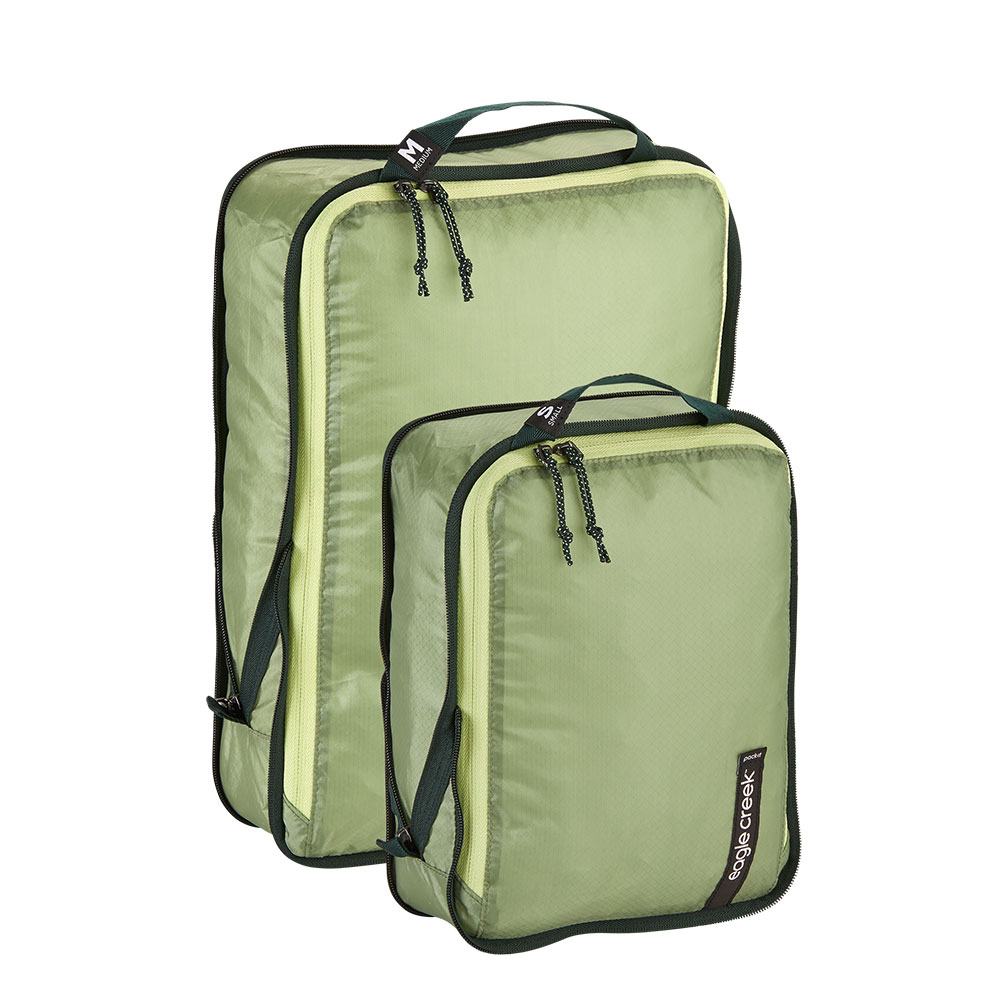 Eagle Creek Isolate Compression Cube Set S/M Mossy Green