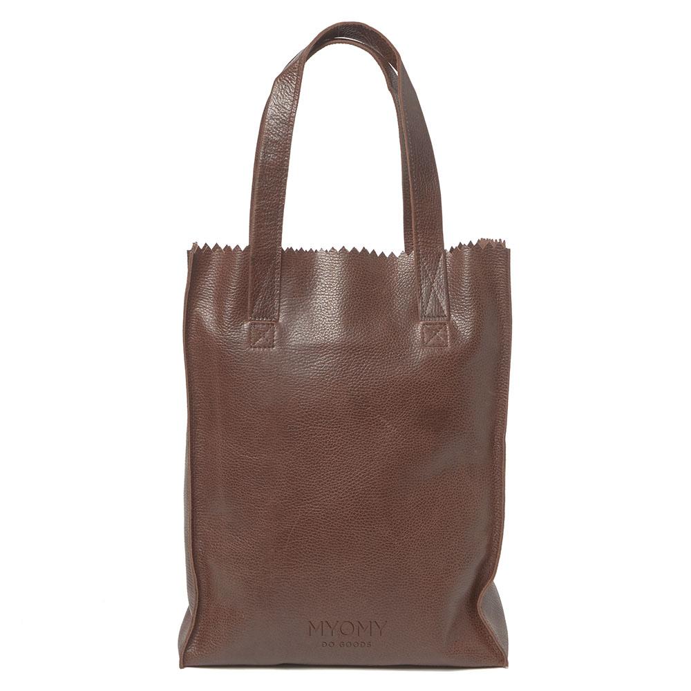 Myomy My Paper Bag Long Handle Zip Rambler Brandy