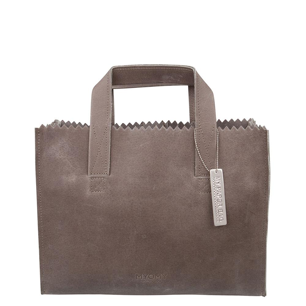 Myomy My Paper Bag Handbag Cross-Body Hunter Taupe