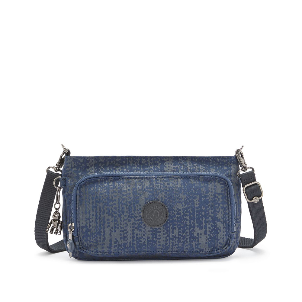 Kipling Myrte Crossbody Schoudertas Blue Eclipse Print