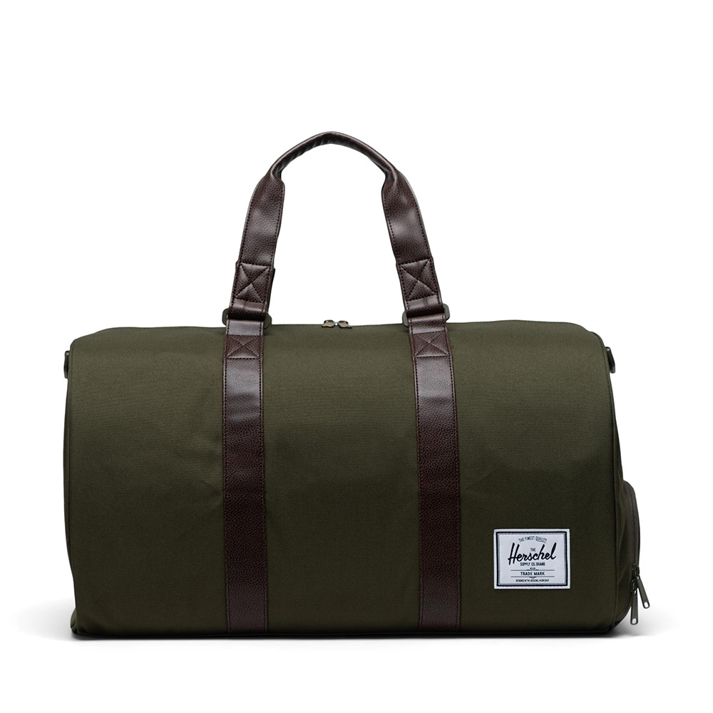 Herschel Novel Reistas Ivy Green/Chicory Coffee
