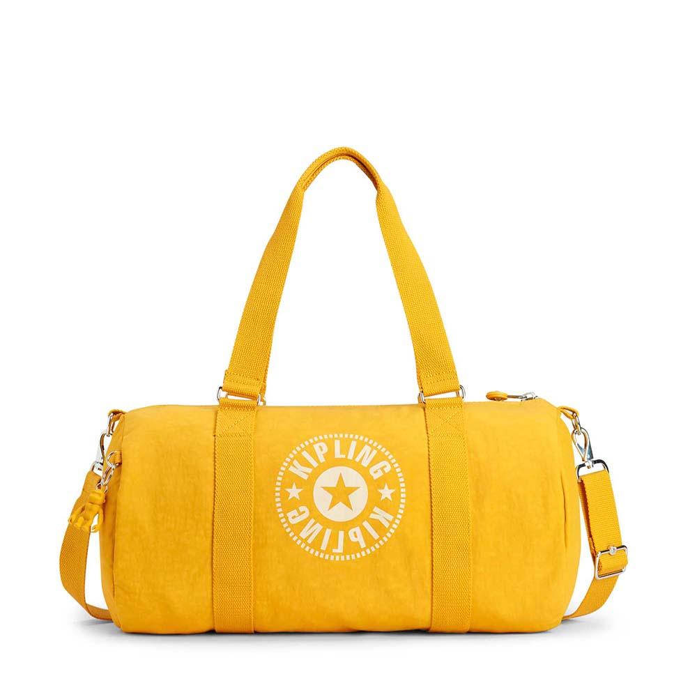 Kipling Onalo Sporttas Lively Yellow