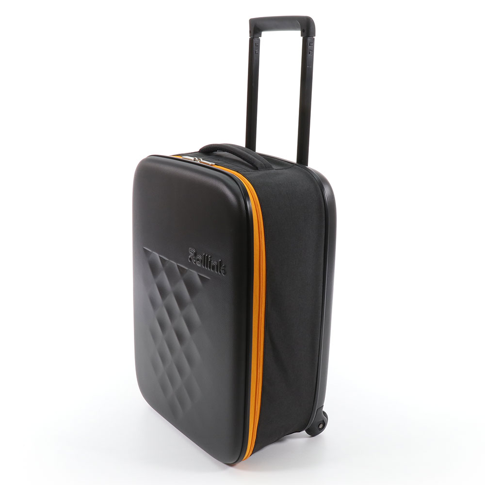 Rollink Flex Earth Opvouwbare Handbagage Koffer 55 Orange