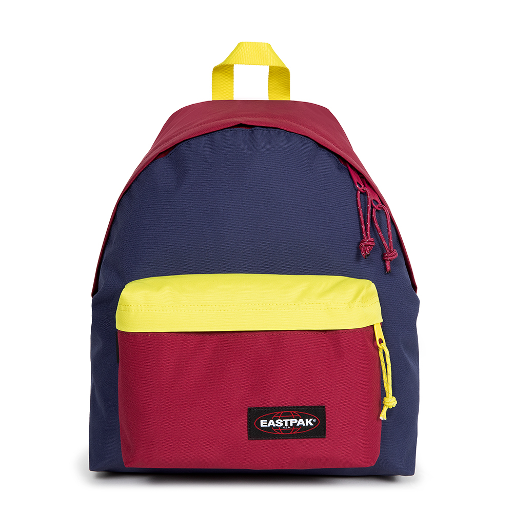 Eastpak Padded Pak'r Rugzak Color Blocked Midnight