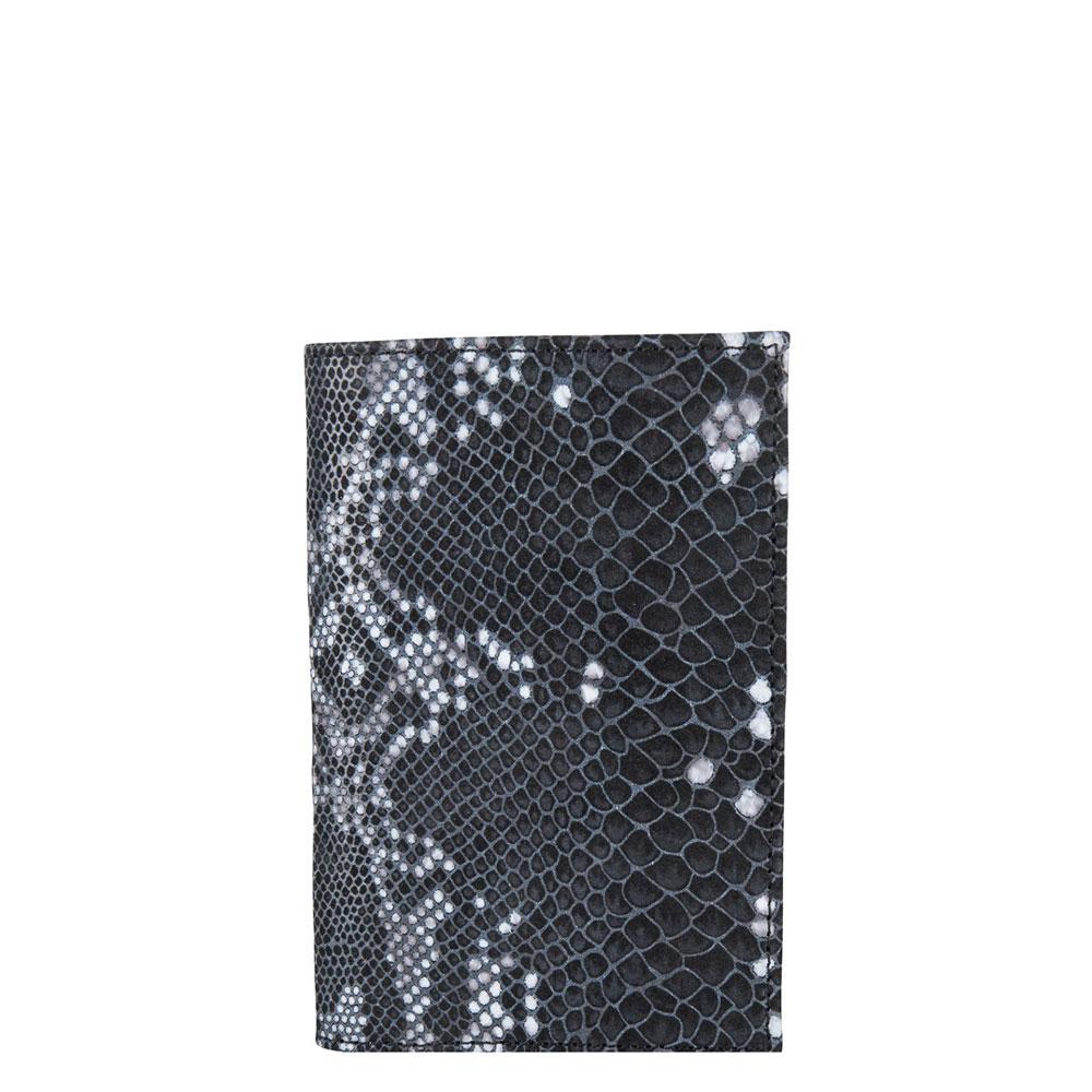 Cowboysbag X Bobbie Bodt Pasport Cover Agate Snake Black And White