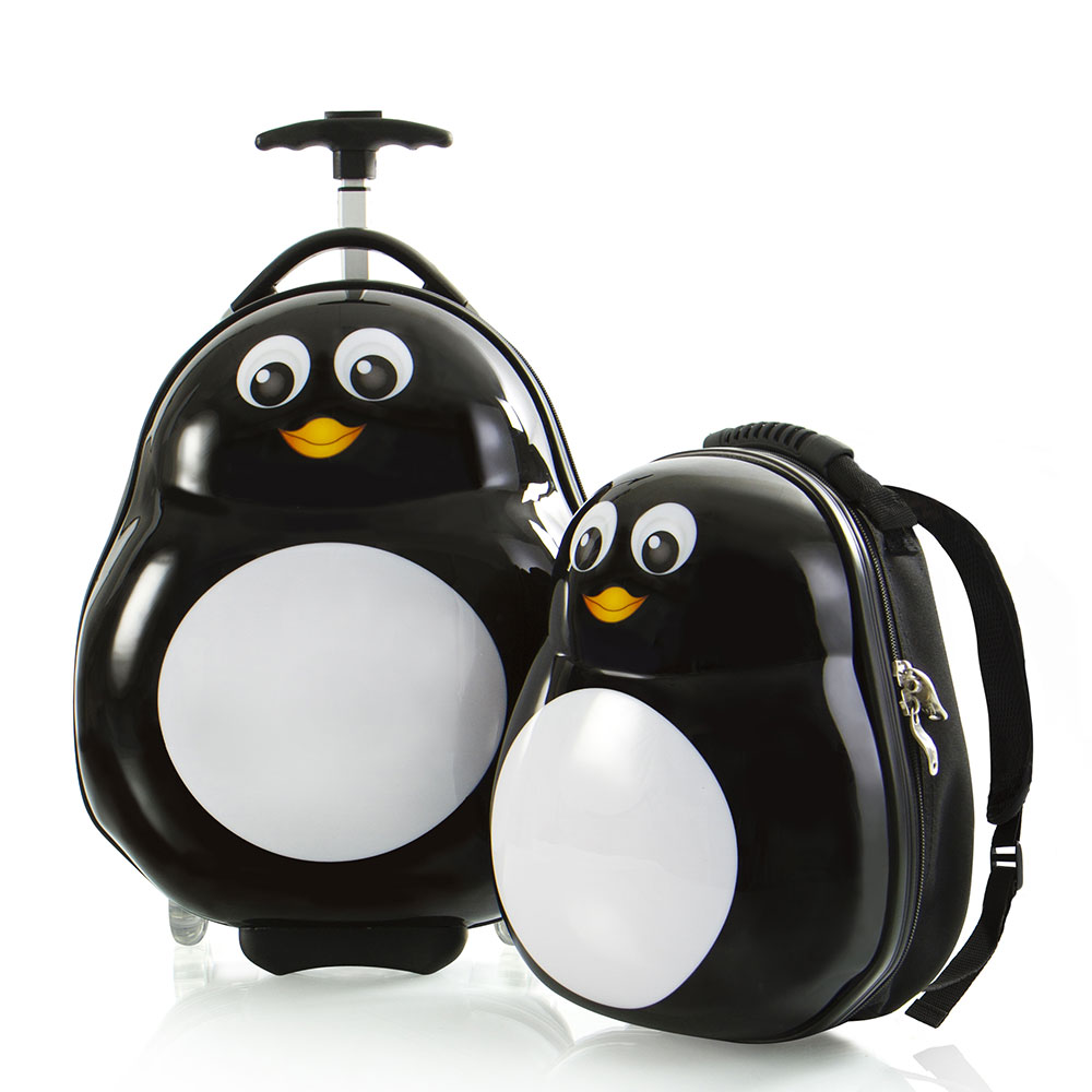 Heys Travel Tots Kinderkoffer Met Rugzak Penguin
