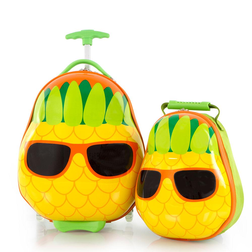 Heys Travel Tots Kinderkoffer Met Rugzak Pineapple