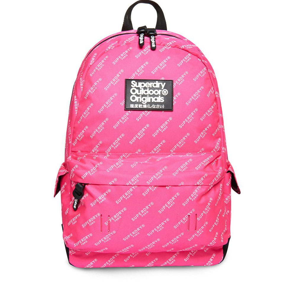 Superdry Montana Print Edition Backpack Pink AOP