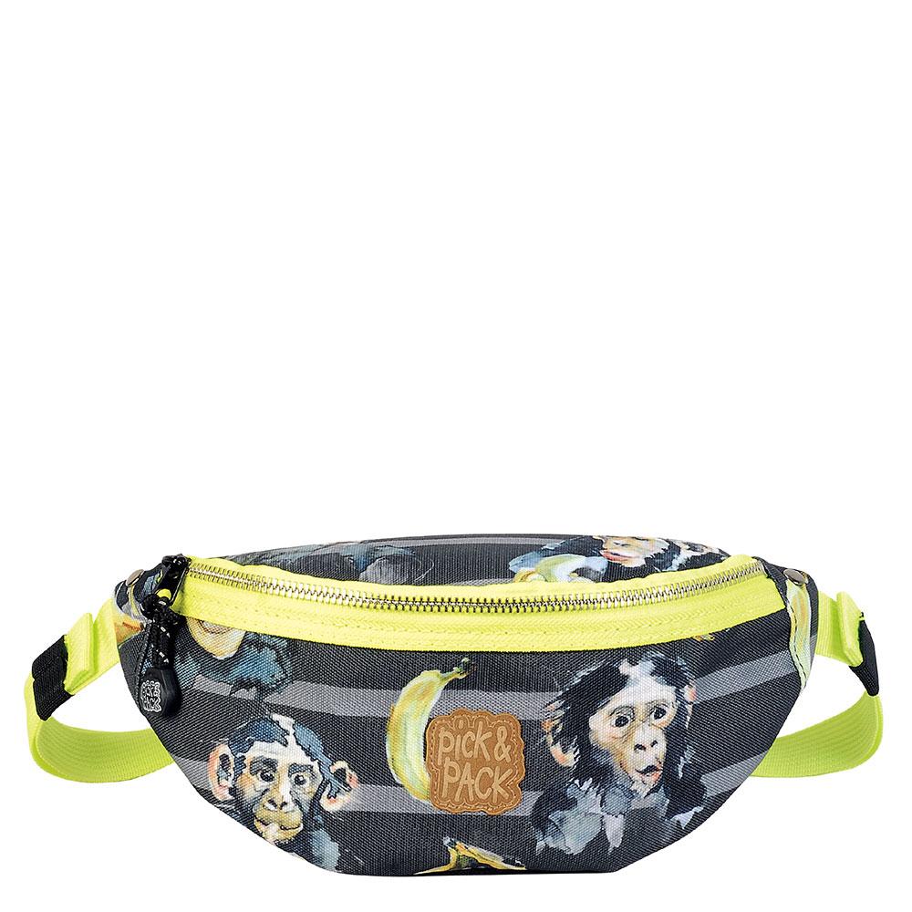 Pick & Pack Cute Waistbag Chimpanze Black