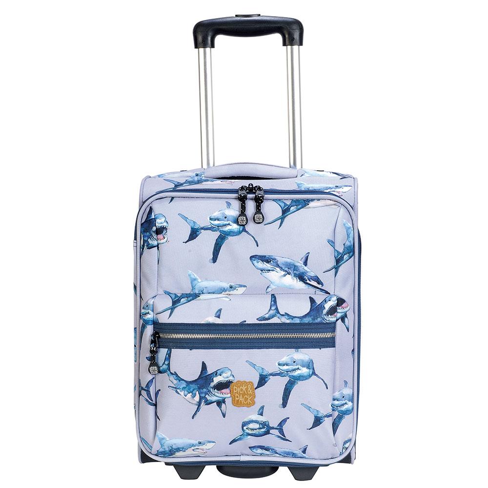 Pick & Pack-Koffers-Shark Trolley-Grijs