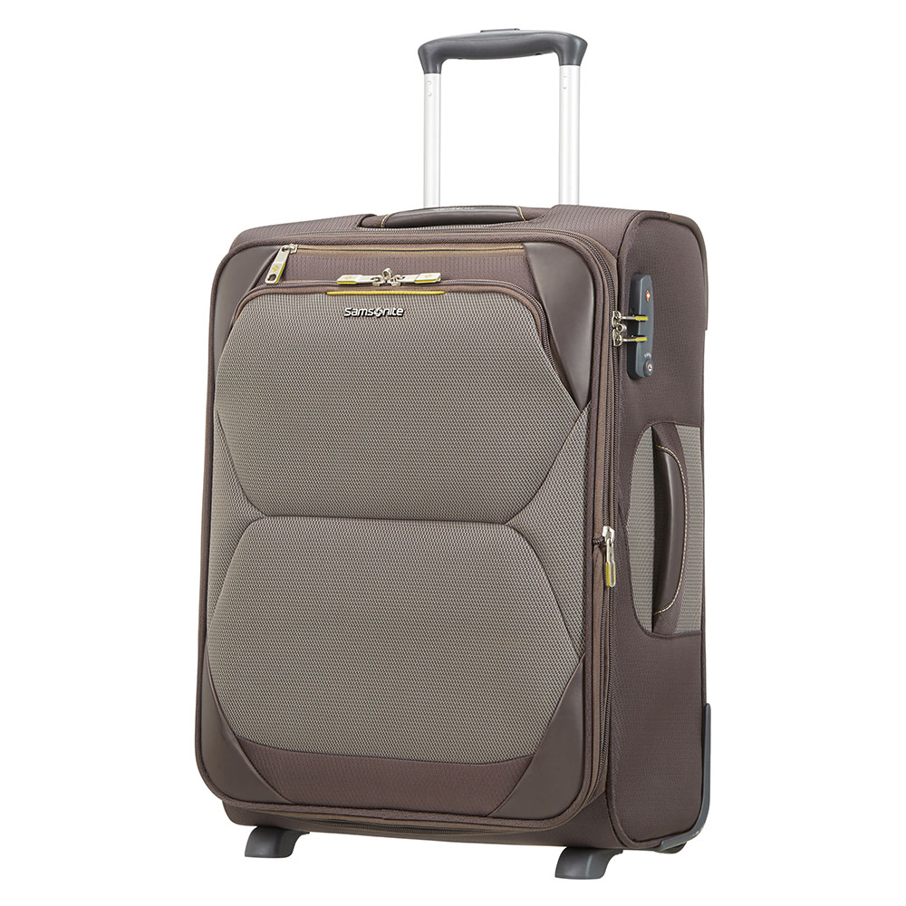 Zachte Koffers Samsonite Samsonite Dynamore Upright 55 Expandable Length 40 Taupe