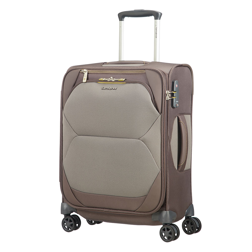 Zachte Koffers Samsonite Dynamore Spinner 55 Length 40 Taupe
