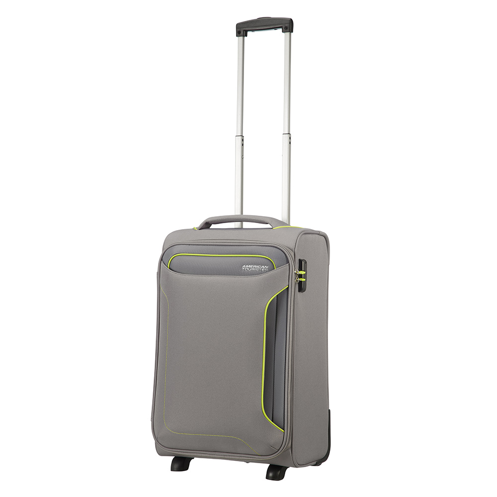 American Tourister American Tourister Holiday Heat Upright 55 Lenght 35 Metal Grey Zachte Koffers