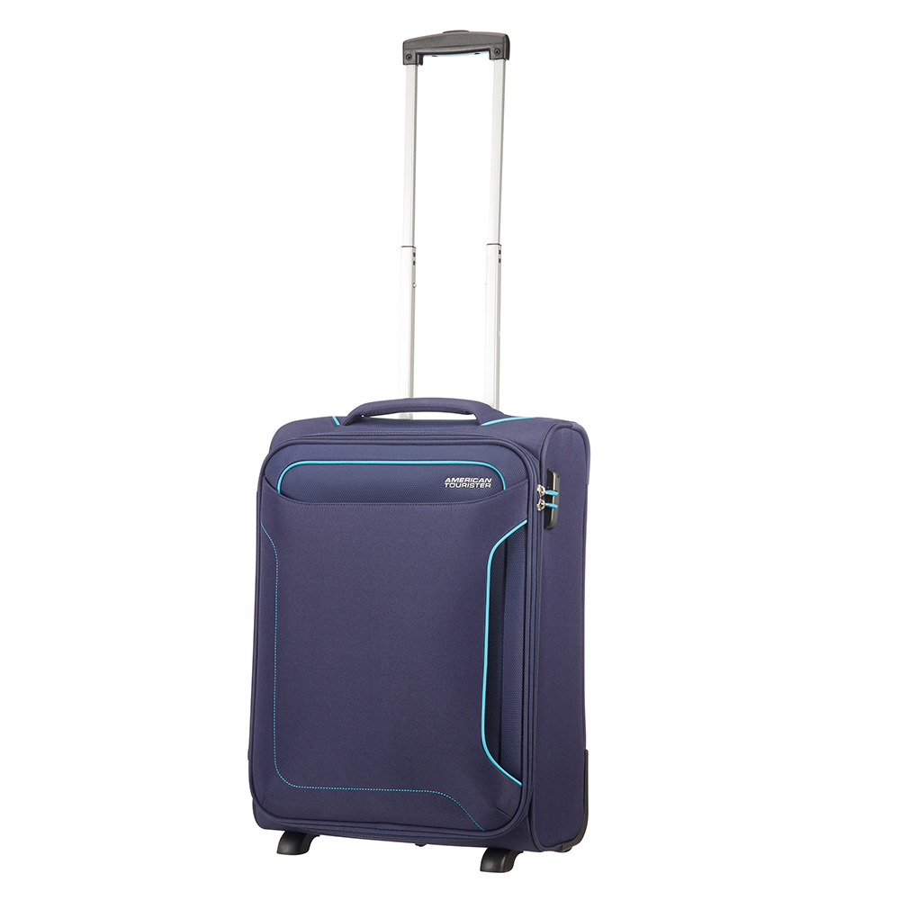 American Tourister American Tourister Holiday Heat Upright 55 Lenght 35 Navy Zachte Koffers