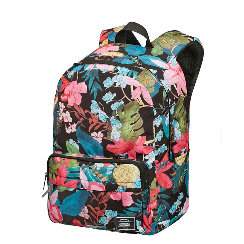 American Tourister Urban Groove UG Lifestyle Backpack 1 Black Floral
