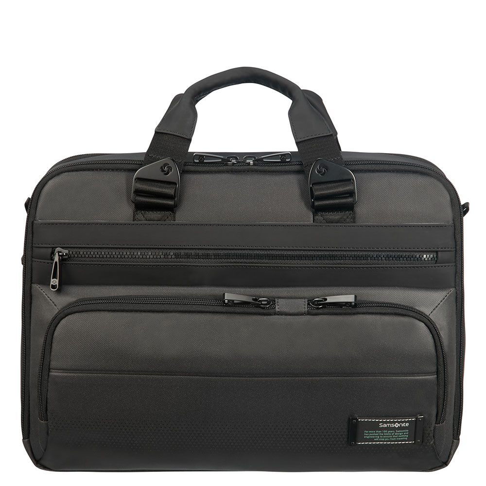 Samsonite Cityvibe 2.0 Laptop Bailhandle 15.6 Expandable Jet Black