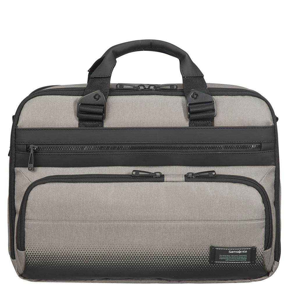 Samsonite Cityvibe 2.0 Laptop Bailhandle 15.6 Expandable Ash Grey