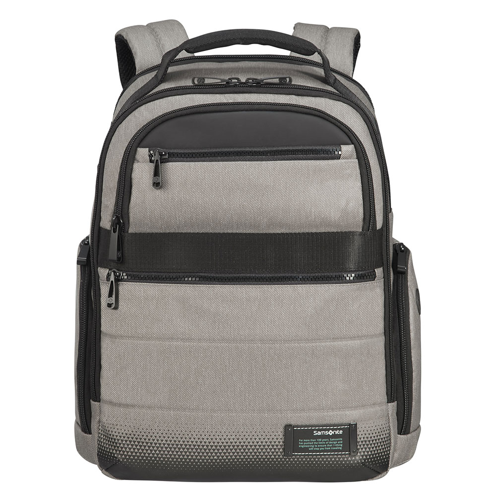 Samsonite Cityvibe 2.0 Laptop Backpack 15.6 Expandable Ash Grey