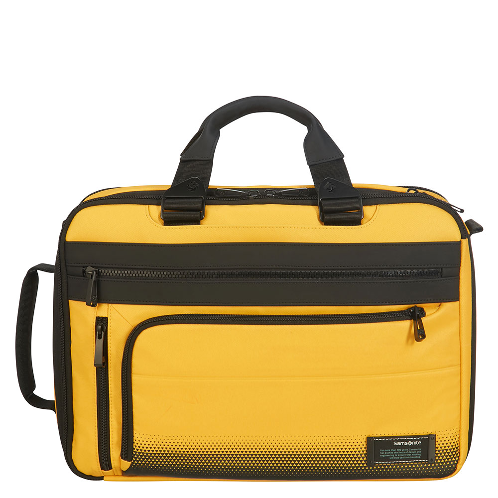 Samsonite Cityvibe 2.0 3 Way Business Case 15.6 Expandable Golden Yellow