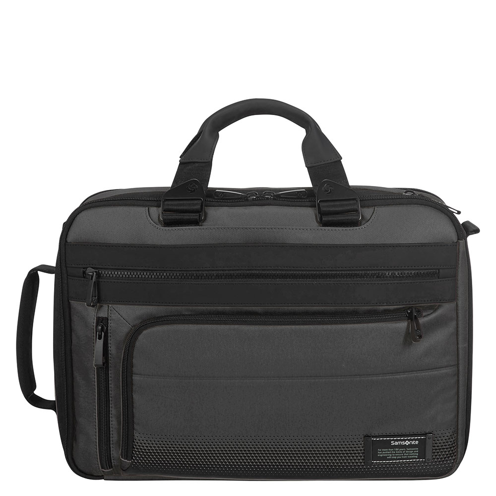 Samsonite Cityvibe 2.0 3 Way Business Case 15.6 Expandable Jet Black