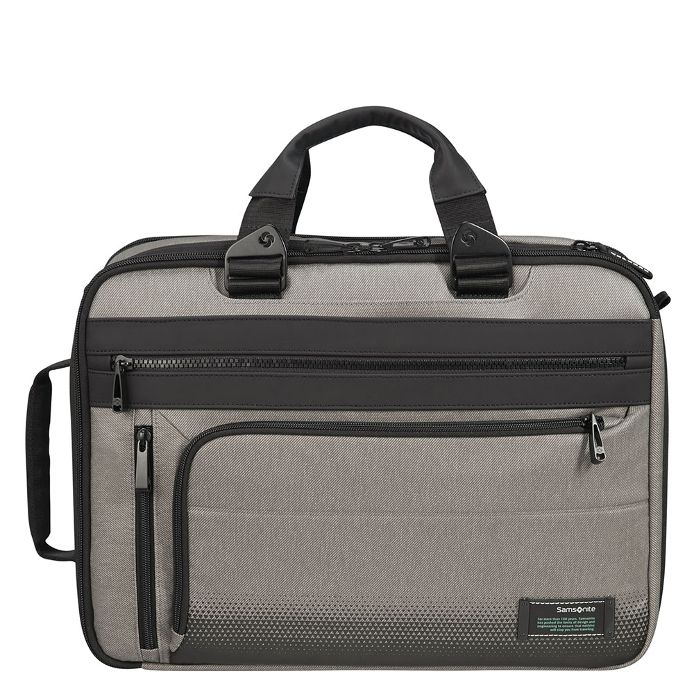 Samsonite Cityvibe 2.0 3 Way Business Case 15.6 Expandable Ash Grey