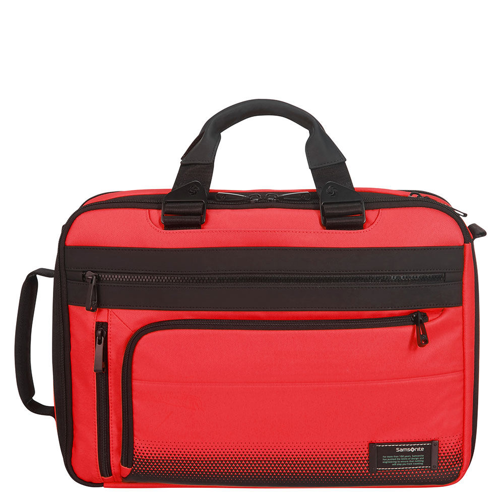 Samsonite Cityvibe 2.0 3 Way Business Case 15.6 Expandable Lava Red