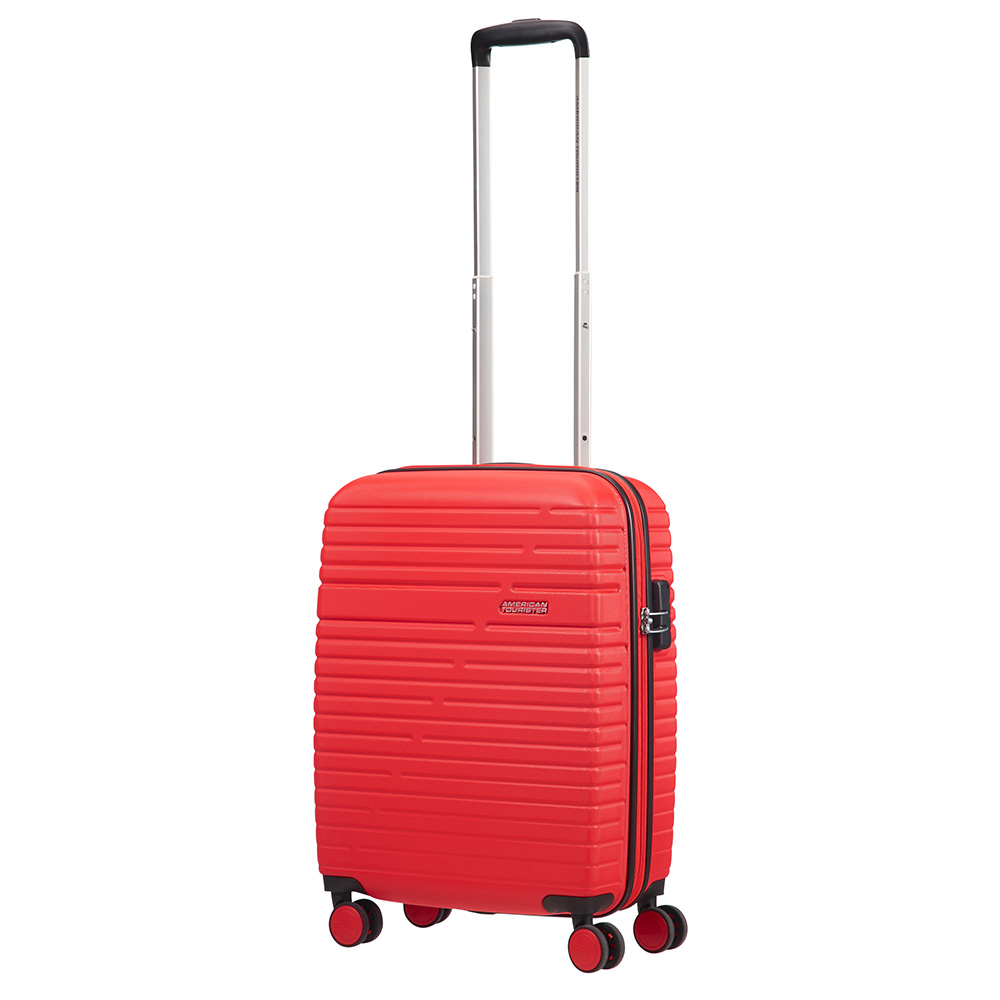 American Tourister Aero Racer Spinner 55 Poppy Red