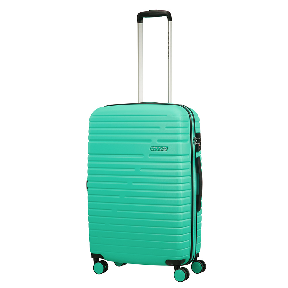 Afbeelding van American Tourister Aero Racer Spinner 68 Expandable Mint Harde Koffers
