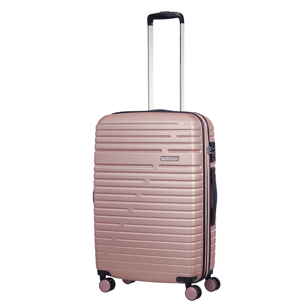 Afbeelding van American Tourister Aero Racer Spinner 68 Expandable Rose Pink